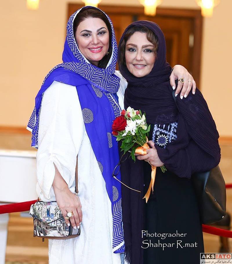 بازیگران بازیگران زن ایرانی  شقایق فراهانی در اختتامیه جشنواره فیلم سینما تورز (2 عکس)