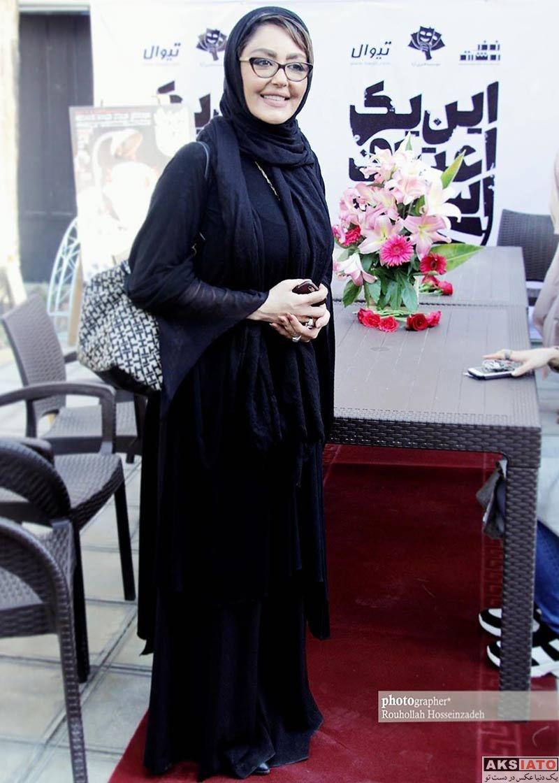 بازیگران بازیگران زن ایرانی  شقایق فراهانی در افتتاحیه این یک اعتراف است (۳ عکس)