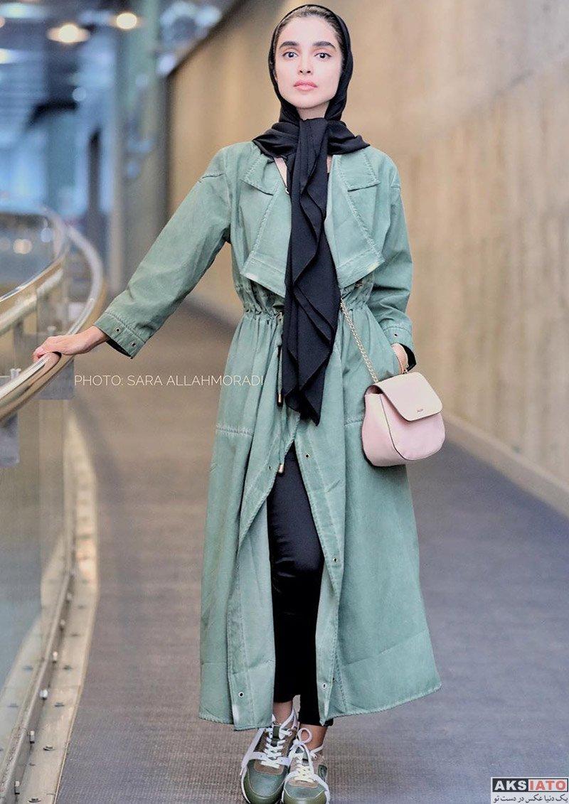 بازیگران بازیگران زن ایرانی  الهه حصاری و مرجانه گلچین در اکران مردمی فیلم کروکودیل (6 عکس)