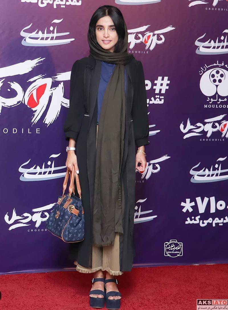 بازیگران بازیگران زن ایرانی  الهه حصاری در اکران مردمی فیلم سینمایی کروکودیل (6 عکس)