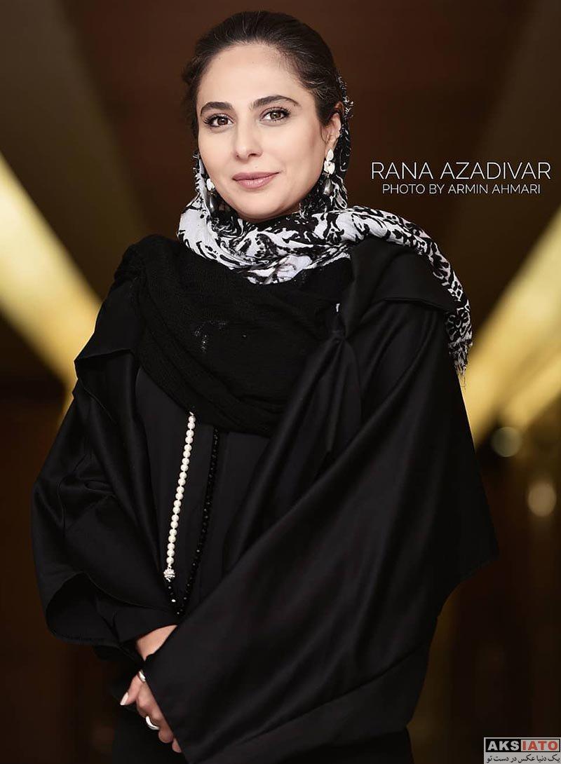 بازیگران بازیگران زن ایرانی  رعنا آزادی ور در بیست و یکمین جشن بزرگ سینمای ایران (4 عکس)