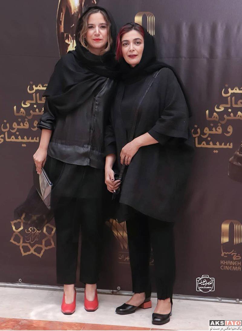 بازیگران بازیگران زن ایرانی  ستاره پسیانی در بیست و یکمین جشن بزرگ سینمای ایران (3 عکس)