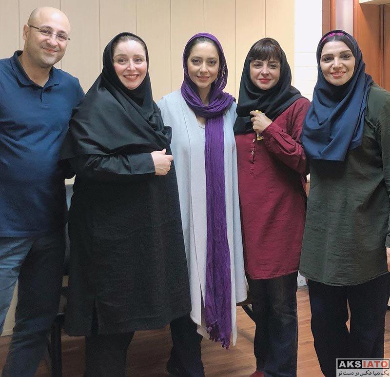 بازیگران بازیگران زن ایرانی  بهاره کیان افشار در اجرای نمایش عاشقانههای خیابان (۳ عکس)