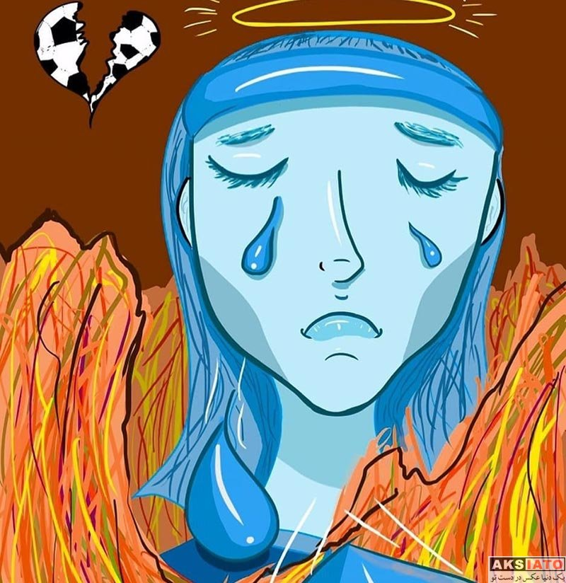بازیگران عکس های مختلف  8 کاریکاتور با موضوع خودسوزی سحر خدایاری دختر آبی
