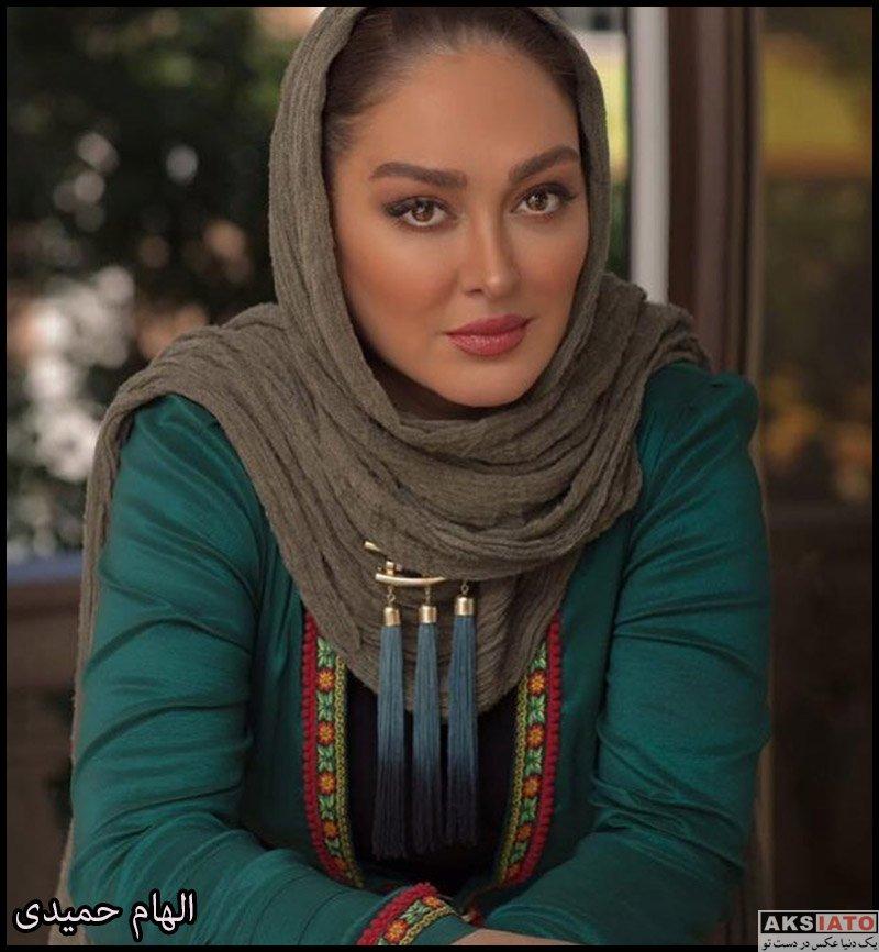 بازیگران بازیگران زن ایرانی  عکس های جدید الهام حمیدی در شهریورماه 98 (10 تصویر)