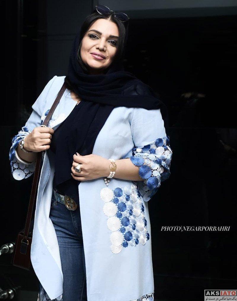 بازیگران بازیگران زن ایرانی  الهام پاوه نژاد در اکران مردمی فیلم سینمایی کروکودیل (۳ عکس)