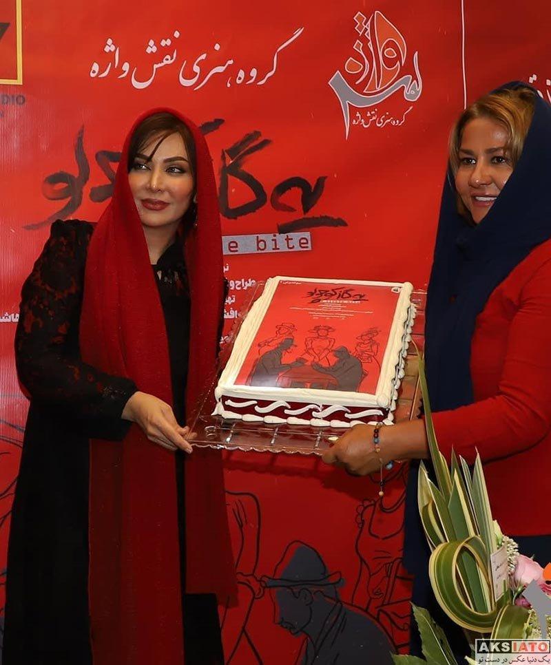 فقیهه سلطانی در افتتاحیه نمایش یه گاز کوچولو (۴ عکس) - عکسیاتو