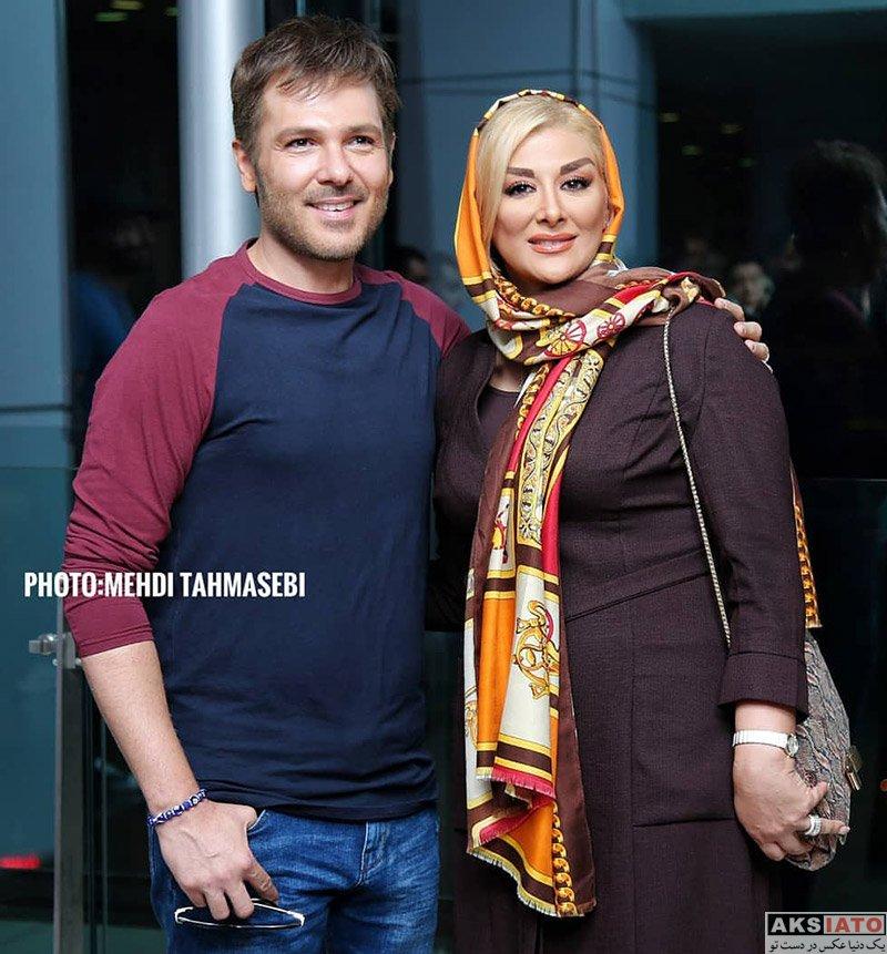 خانوادگی  عکس های کوروش تهامی و همسرش در اکران مردمی فیلم کروکودیل