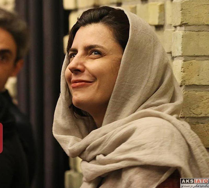 بازیگران بازیگران زن ایرانی  لیلا حاتمی در سومین دوره اهدای نشان داوود رشیدی (۴ عکس)