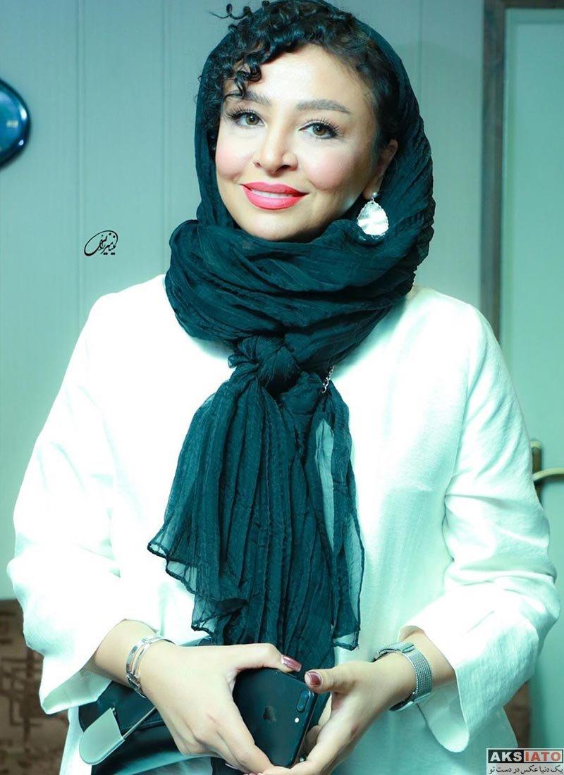 بازیگران بازیگران زن ایرانی  مه لقا باقری در اکران خصوصی فیلم بزرگراه (۴ عکس)