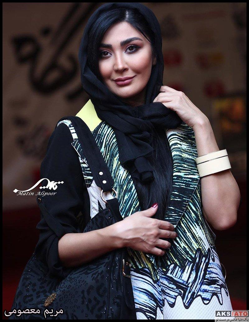 بازیگران بازیگران زن ایرانی  مریم معصومی در اکران خصوصی فیلم درخونگاه (4 عکس)