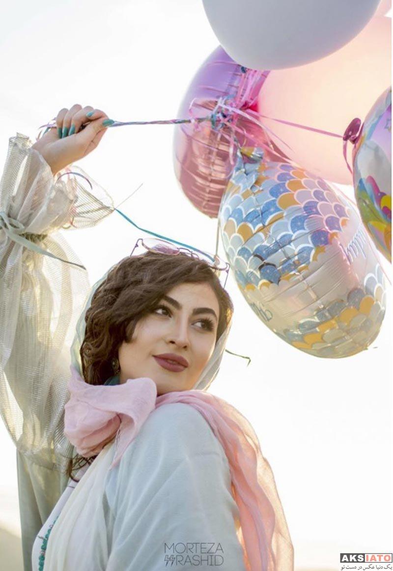 بازیگران جشن تولد ها  جشن تولد 21 سالگی مریم مومن (4 عکس)