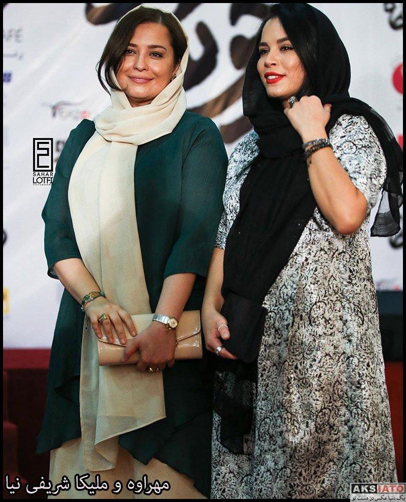 بازیگران بازیگران زن ایرانی  مهراوه شریفی نیا در اکران خصوصی فیلم درخونگاه (6 عکس)
