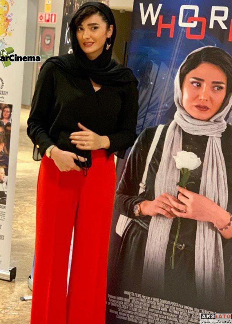 بازیگران بازیگران زن ایرانی  مینا وحید در جشنواره فیلم مادرید اسپانیا (4 عکس)