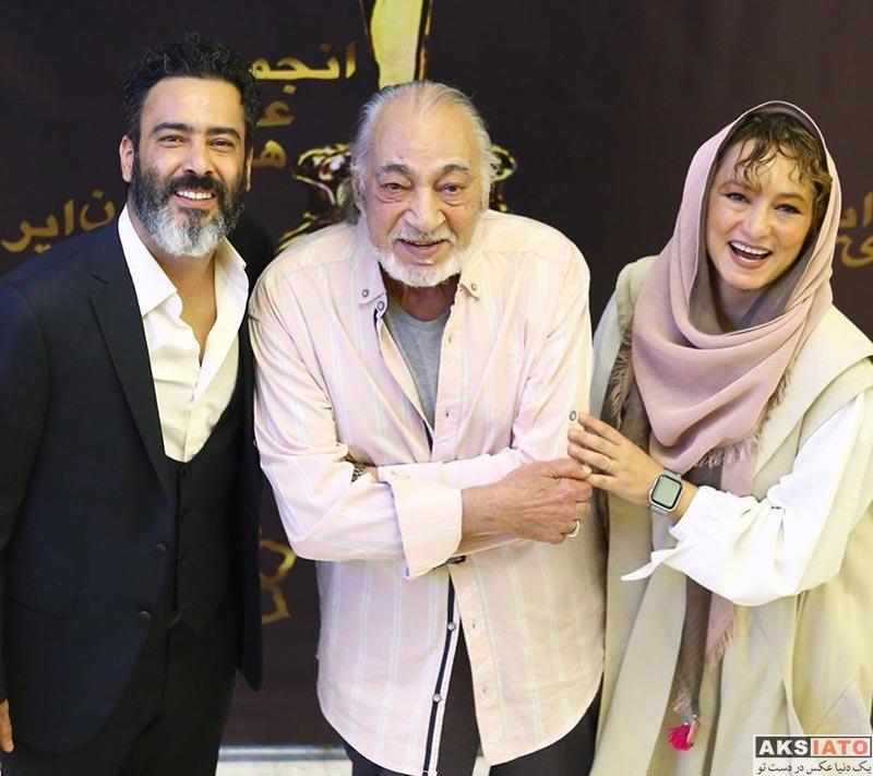 خانوادگی  سحر ولدبیگی و همسرش در بیست و یکمین جشن سینمای ایران (۴ عکس)