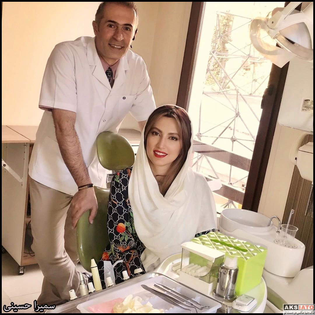 بازیگران بازیگران زن ایرانی  سمیرا حسینی بازیگر سریال ترور خاموش در شهریور 98 (8 تصویر)
