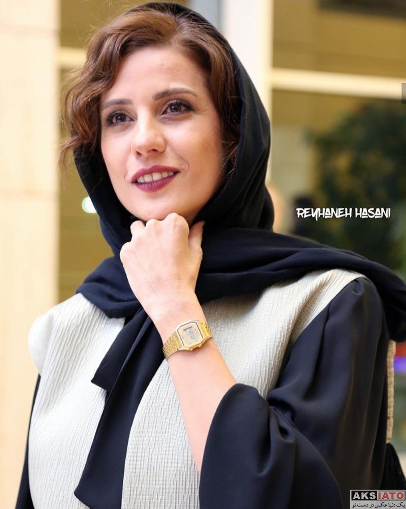 بازیگران بازیگران زن ایرانی  سارا بهرامی در بیست و یکمین جشن بزرگ سینمای ایران (6 عکس)