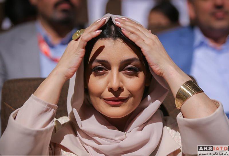 بازیگران بازیگران زن ایرانی  ساره بیات در اختتامیه جشنواره فیلم کودک و نوجوان (4 عکس)