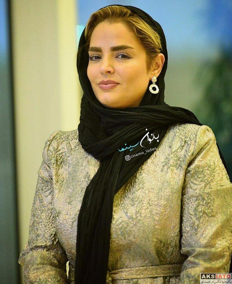 بازیگران بازیگران زن ایرانی  سپیده خداوردی در بیست و یکمین جشن بزرگ سینمای ایران (۴ عکس)