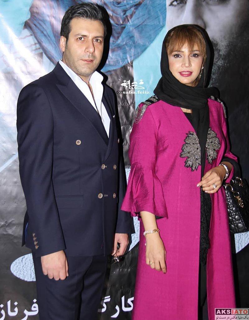 بازیگران بازیگران زن ایرانی  شبنم قلی خانی در اکران خصوصی فیلم بزرگراه (4 عکس)