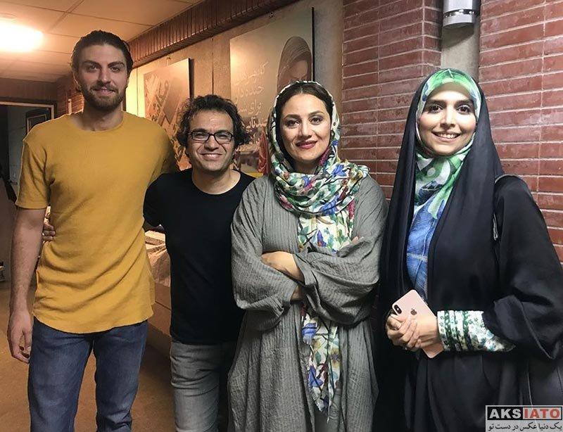 بازیگران بازیگران زن ایرانی  شبنم مقدمی در اجرای نمایش نمایش مرغ دریایی من (2 عکس)