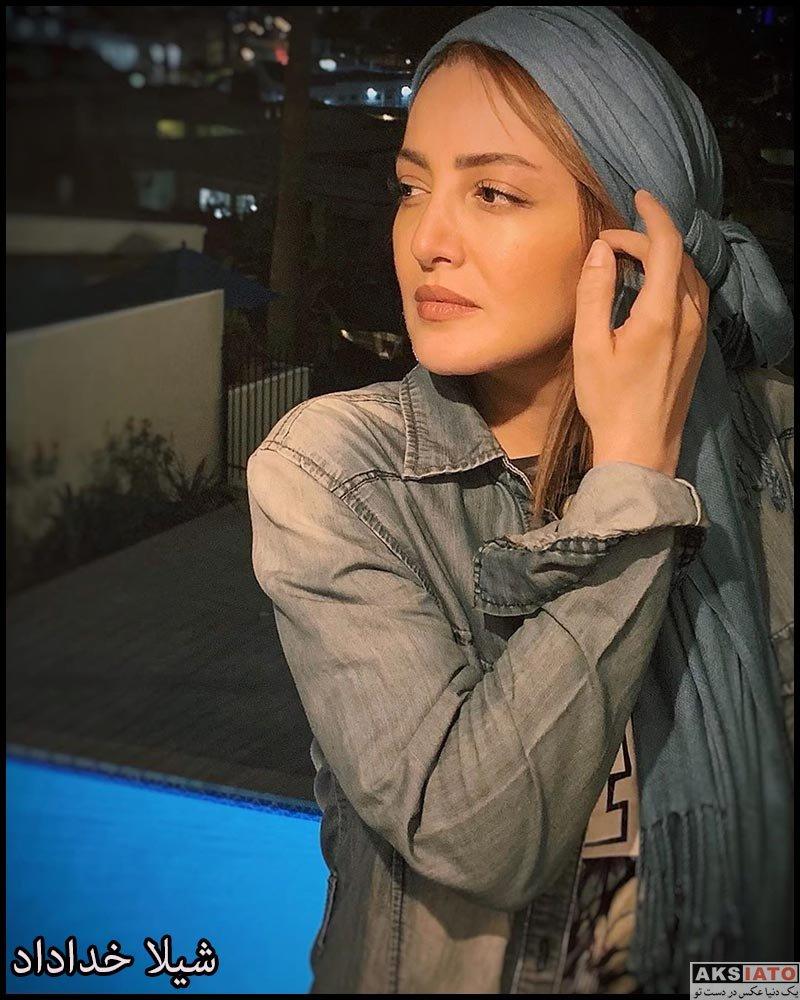 بازیگران بازیگران زن ایرانی  عکس های شیلا خداداد در شهریور ماه 98 (10 تصویر)