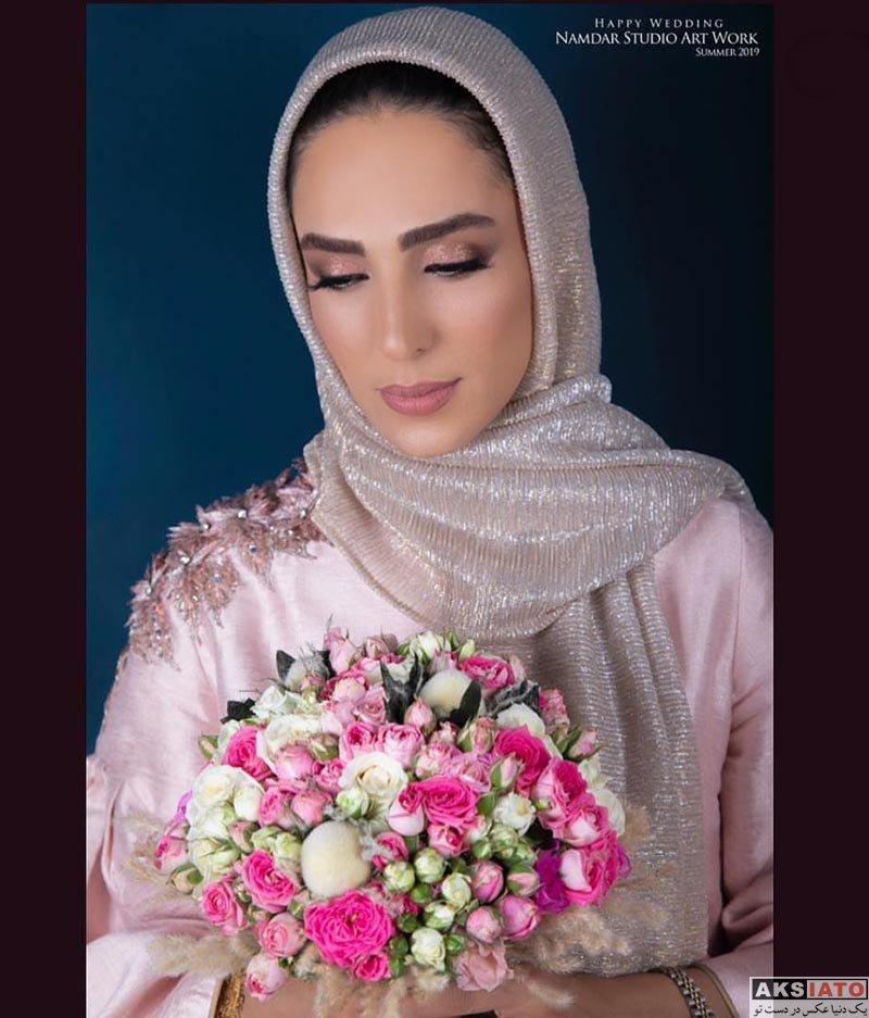 بازیگران بازیگران زن ایرانی  مراسم عقد و ازدواج سوگل طهماسبی (4 عکس)