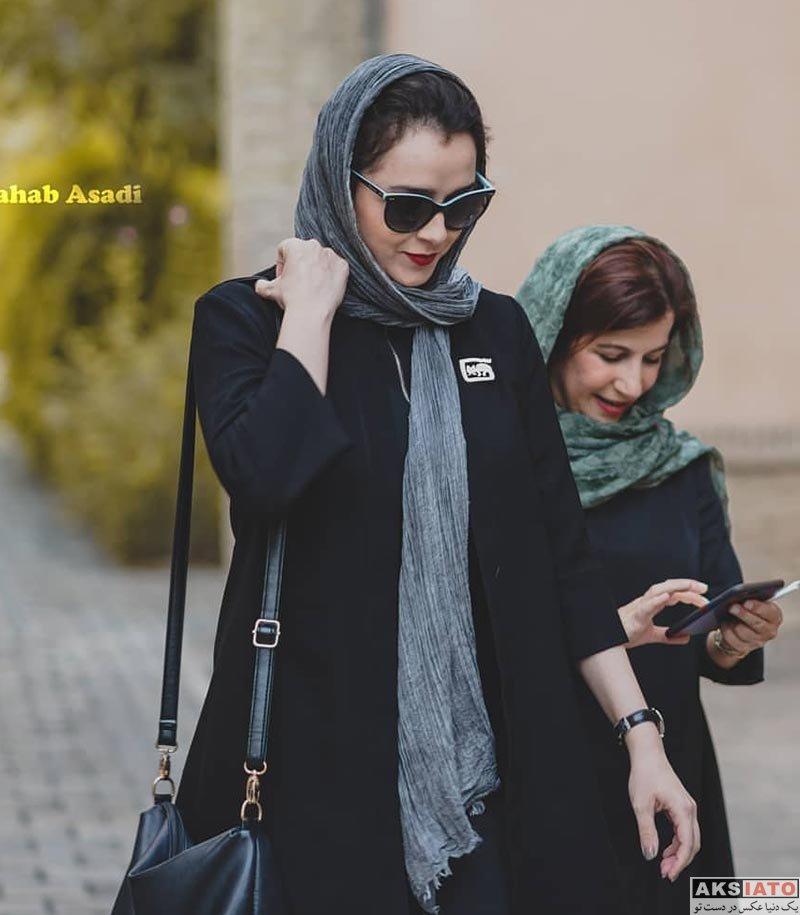 بازیگران بازیگران زن ایرانی  ترانه علیدوستی در سومین دوره اهدای نشان داوود رشیدی (4 عکس)