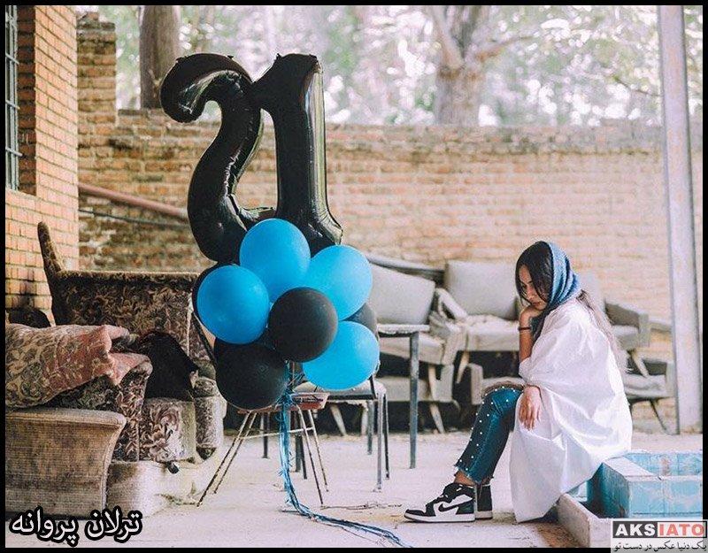 بازیگران بازیگران زن ایرانی  عکس های ترلان پروانه در شهریور ماه 98 (12 تصویر)