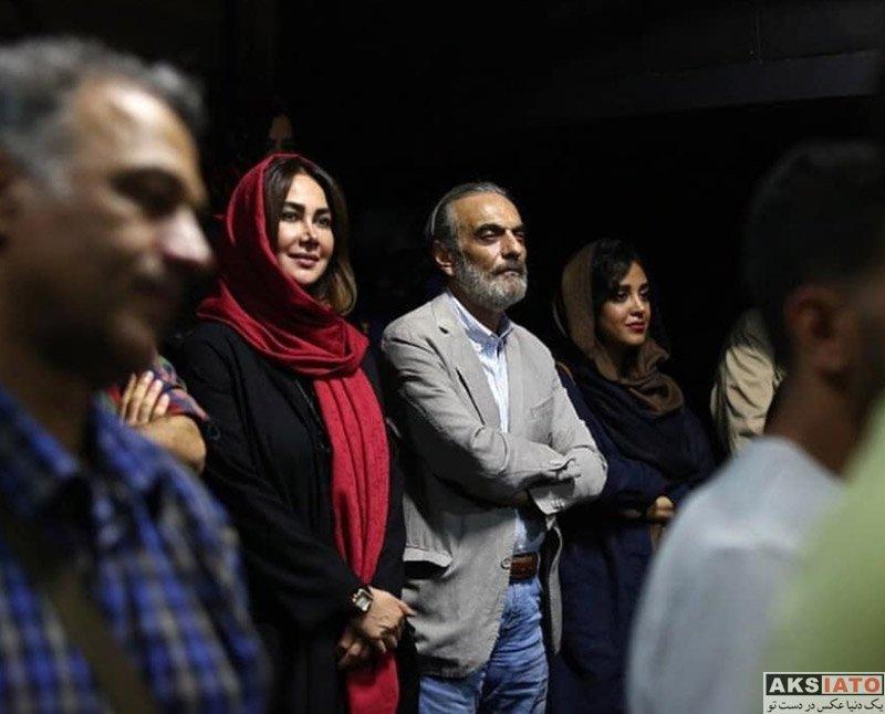بازیگران بازیگران زن ایرانی  آنا نعمتی در اجرای نمایش رویای دم صبح (3 عکس)