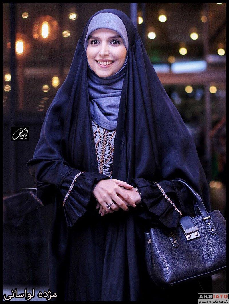 بازیگران مجریان  مژده لواسانی در اکران خصوصی فیلم شاه کش (4 عکس)