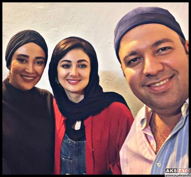 بازیگران بازیگران زن ایرانی  بهاره افشاری و مهمانانش در نمایش زیبایی گاهی زن است (8 عکس)