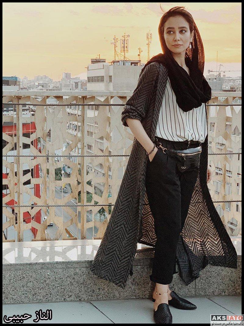 بازیگران بازیگران زن ایرانی  الناز حبیبی در مهر ماه 98 (12 عکس)