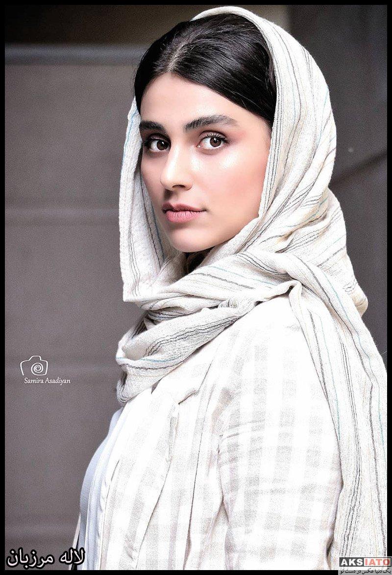 بازیگران بازیگران زن ایرانی  لاله مرزبان در اکران خصوصی فیلم مسخره باز (۳ عکس)