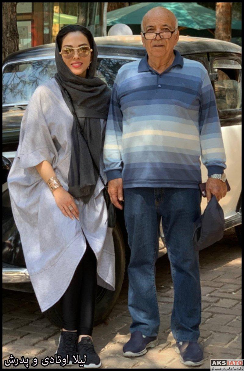 بازیگران بازیگران زن ایرانی  لیلا اوتادی در مهر ماه 98 (12 عکس)