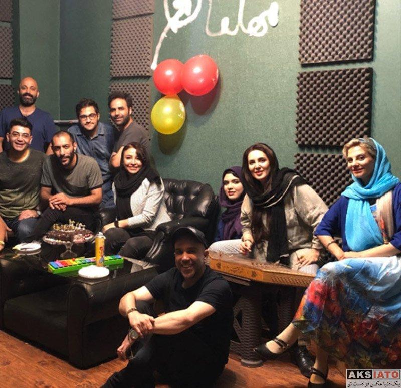 بازیگران بازیگران زن ایرانی  عکس های جشن تولد 38 سالگی مه لقا باقری