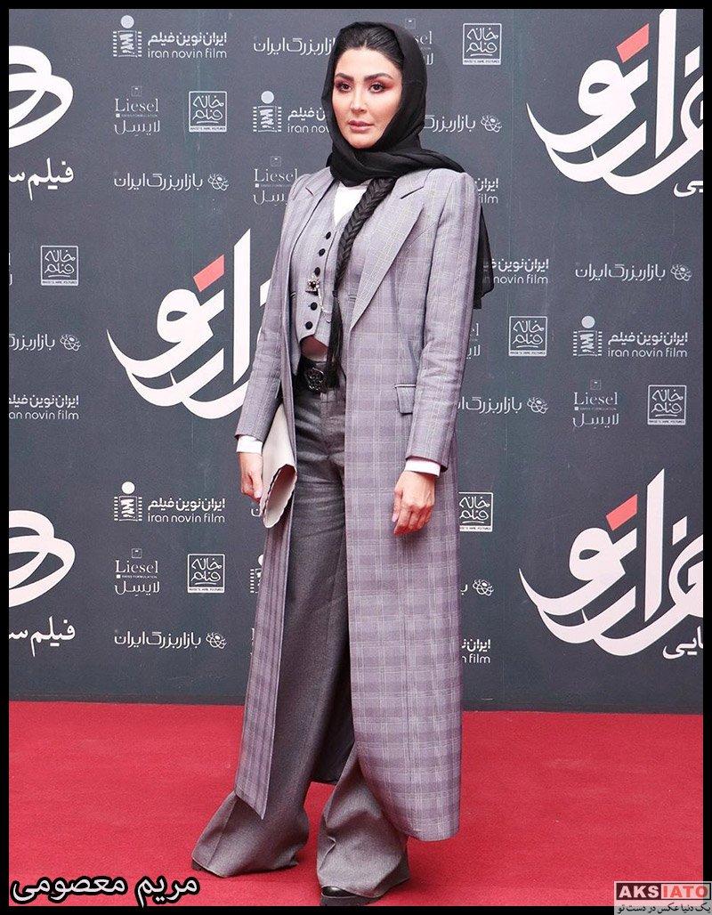 بازیگران بازیگران زن ایرانی  مریم معصومی در اکران خصوصی فیلم هزارتو (6 عکس)