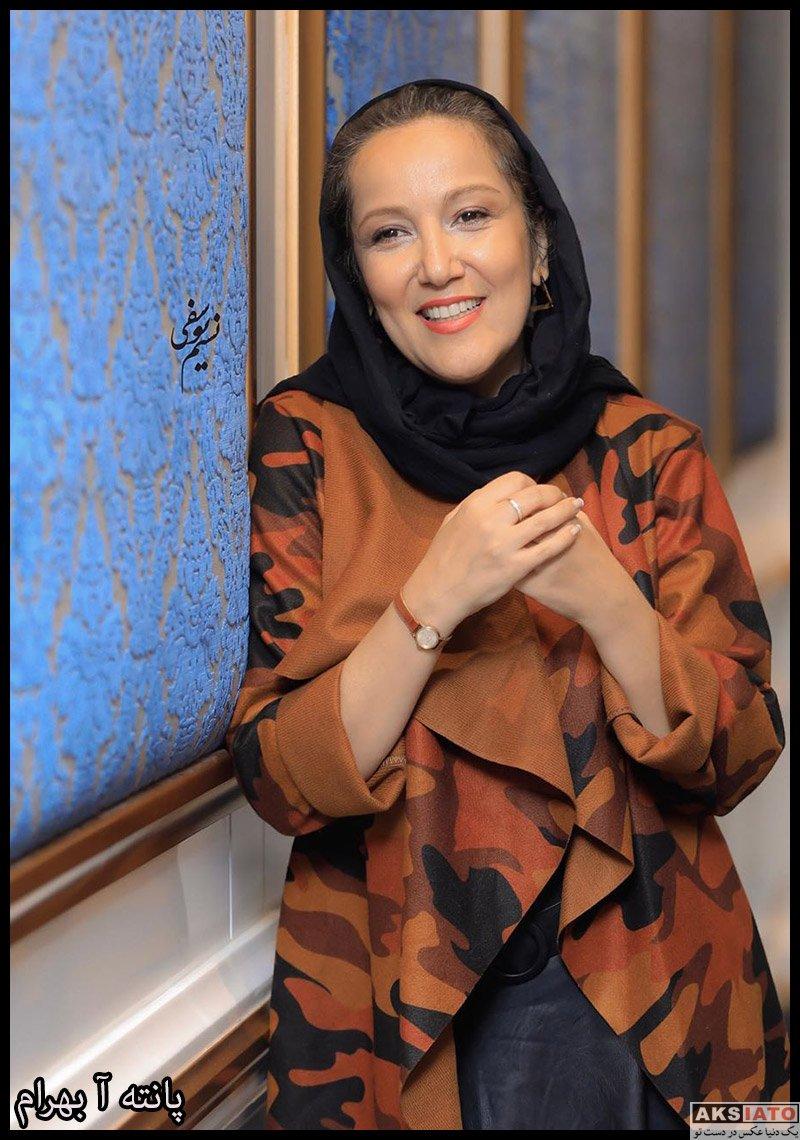 بازیگران بازیگران زن ایرانی  پانته آ بهرام در اکران خصوصی فیلم مسخره باز (4 عکس)