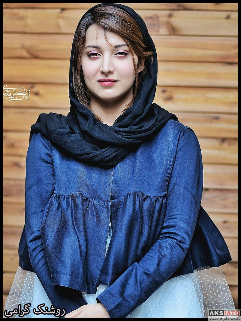 بازیگران بازیگران زن ایرانی  روشنک گرامی در اکران فیلم مردی بدون سایه (۴ عکس)