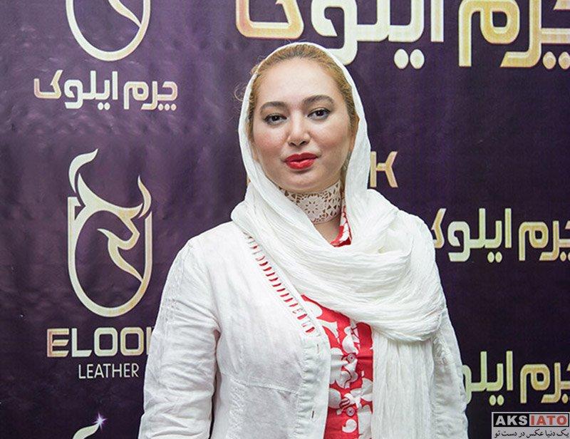 بازیگران بازیگران زن ایرانی  صبا کمالی در افتتاحیه فروشگاه چرم ایلوک (۳ عکس)