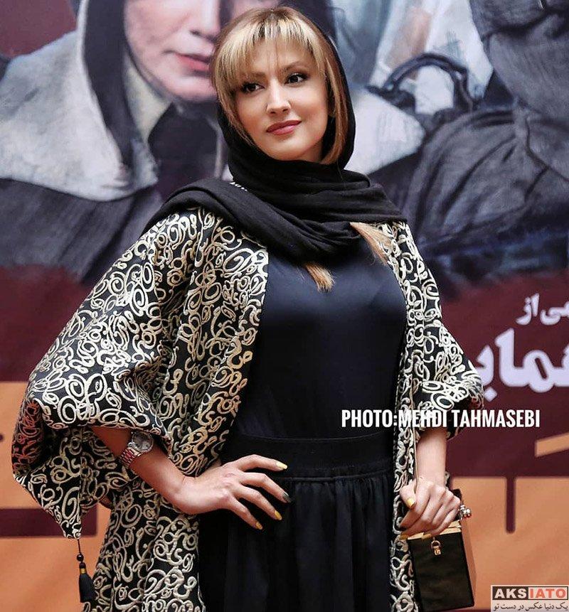 بازیگران بازیگران زن ایرانی  سمیرا حسینی در اکران خصوصی فیلم مسخره باز (۴ عکس)