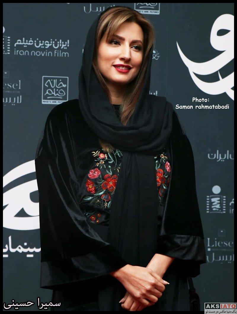 بازیگران بازیگران زن ایرانی  سمیرا حسینی در اکران خصوصی فیلم هزارتو (4 عکس)