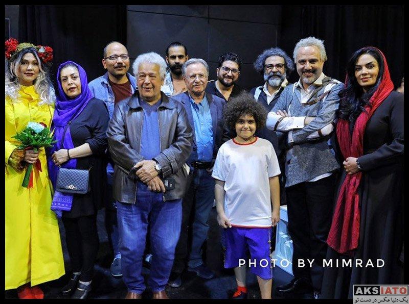 بازیگران بازیگران زن ایرانی  سارا خوئینی ها در اجرای نمایش حماقت ایکاروس (3 عکس)