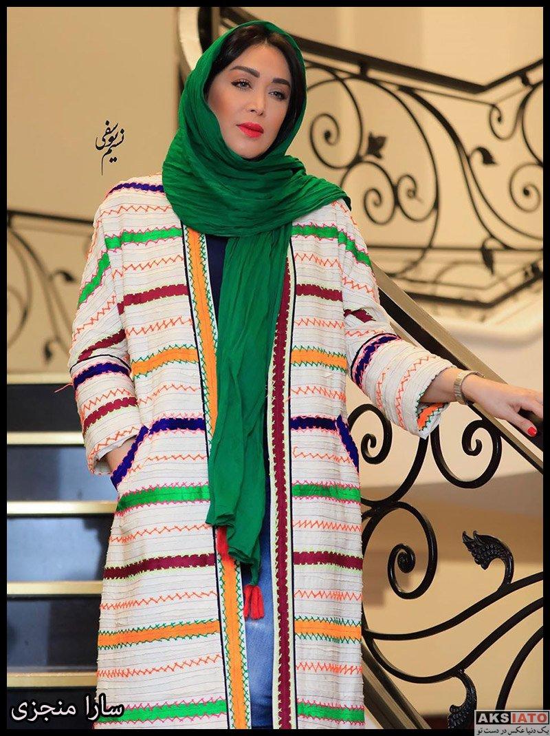 بازیگران بازیگران زن ایرانی  سارا منجزی در اکران خصوصی فیلم مسخره باز (4 عکس)