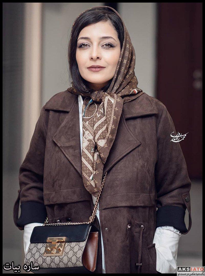 ساره بیات در اکران مردمی فیلم سینمایی هزارتو (۶ عکس) - عکسیاتو