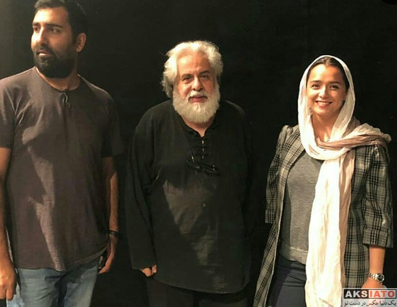 بازیگران بازیگران زن ایرانی  ترانه علیدوستی در اجرای نمایش اثر پرتوهای گاما (2 عکس)