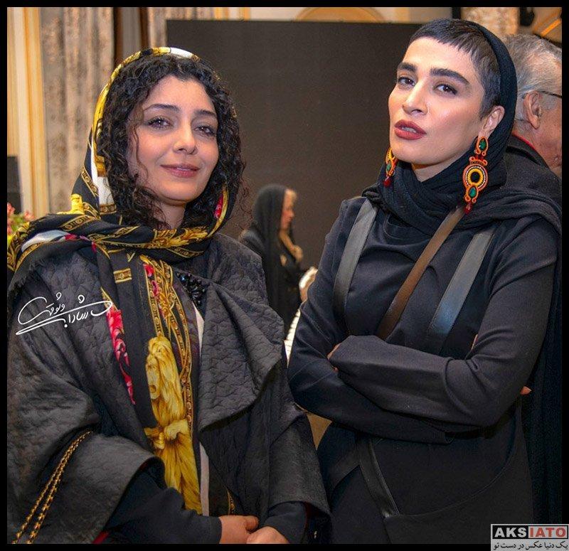 بازیگران بازیگران زن ایرانی  اندیشه فولادوند در آیین سپاس تهیه کنندگان سینما (4 عکس)