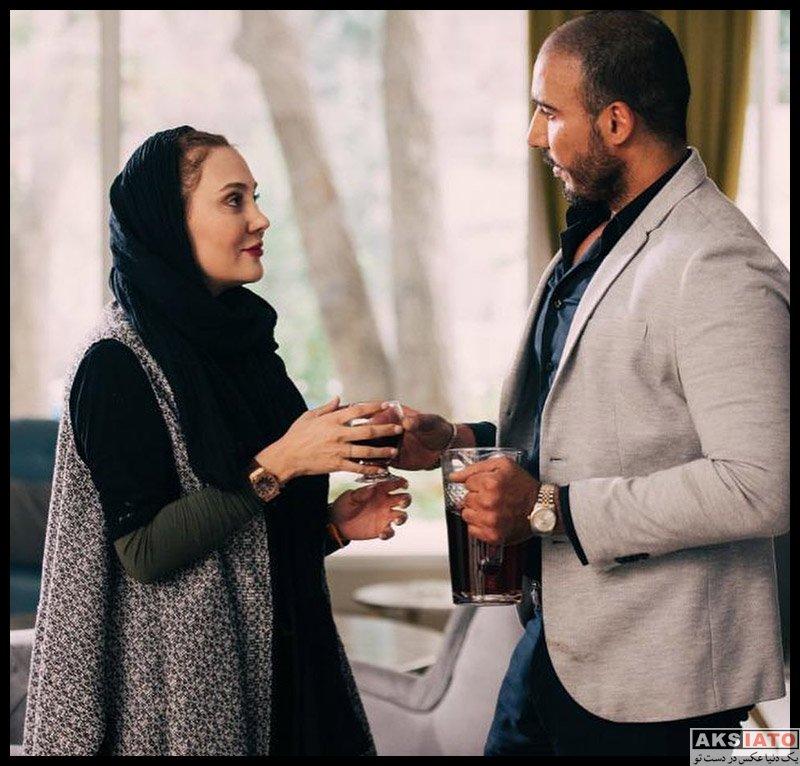 بازیگران بازیگران زن ایرانی  آرام جعفری در فیلم سینمایی سرخ پوش (4 عکس)
