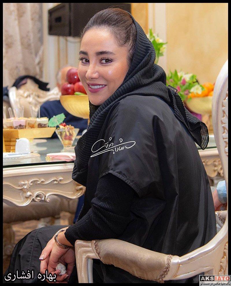 بازیگران بازیگران زن ایرانی  بهاره افشاری در آیین سپاس تهیه کنندگان سینما (2 عکس)