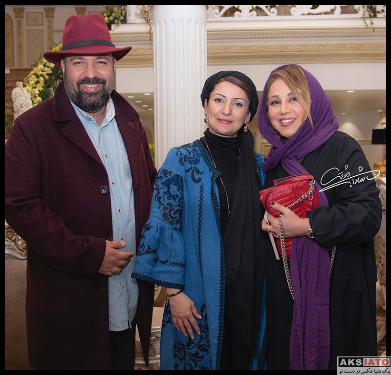 بازیگران بازیگران زن ایرانی  بهنوش بختیاری در آیین سپاس تهیه کنندگان سینما (3 عکس)
